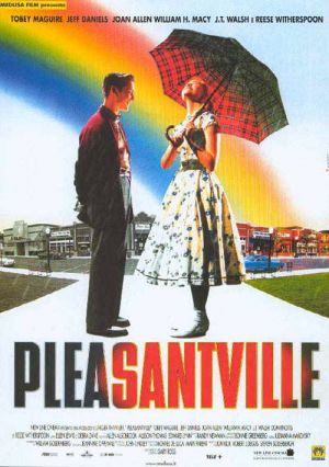 pleasantville film review Movie reviews for pleasantville mrqe metric: see what the critics had to say and watch the trailer.